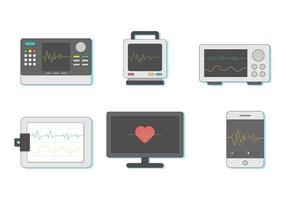 Free Heart Monitor Vector