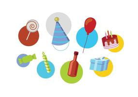 Verjaardag vectoren