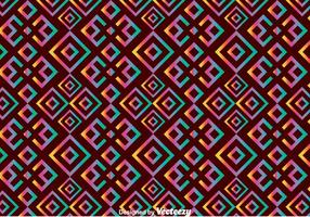 Huichol étnico patrón transparente