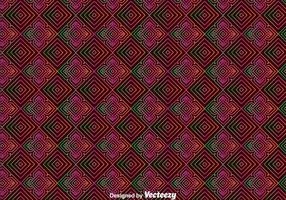 Huichol Orament Seamless Pattern