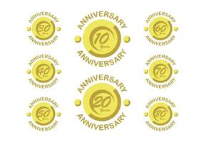 Happy anniversary vectors