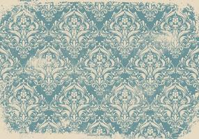 Fond bleu grunge damassé