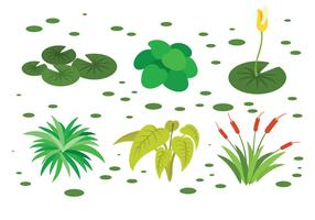 Free Swamp Icons Vector