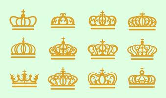 Vetor coroa britânica