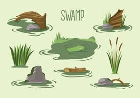 Freier Sumpf-Vektor