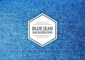 Texture de vecteur bleu foncé Jean