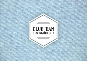 Textura do vetor azul claro de Jean