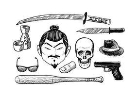 Vector grátis de Yakuza