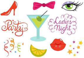 Free Hen Party Vectors