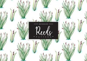 Free Reeds Pattern vector