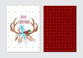 Christmas Free Vector Card