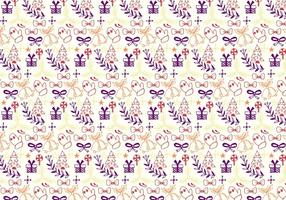 Christmas Pattern Free Vector