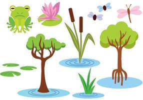 Free Swamp Vectors