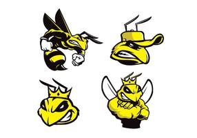 Vector de abelha grátis