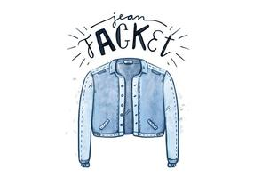 Free Blue Jean Jacket vector