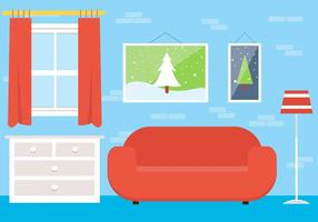 Free Christmas Vector Lounge