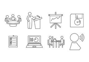 Free Presentation Icon Vector