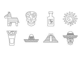 Gratis Mexico Icon Vector