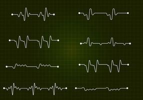 Vector libre de línea plana