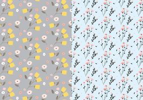 Pastel-floral-pattern-vector