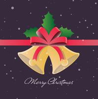 Christmas Vector Bells Illustration