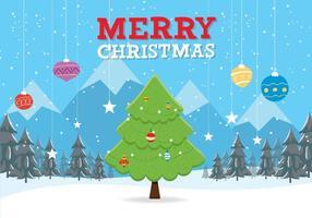 Fondo de Navidad libre de vectores