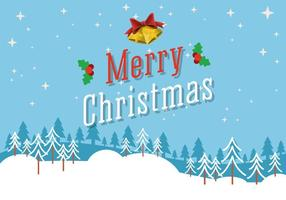 Vector Merry Christmas Background gratuito