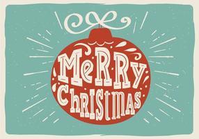 Bola de Navidad de vector libre