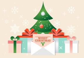 Fondo de Navidad de vector libre