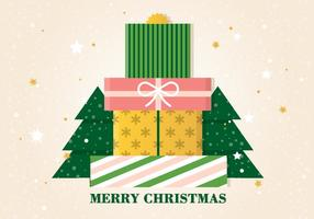 Free Vector Christmas Gift Boxes