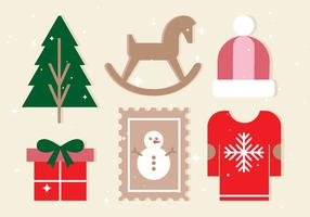 Free Vector Christmas Design Elemente