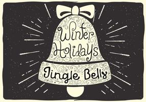 Free Christmas Vector Bell Illustration