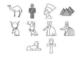 Gratis Egypte Pictogram Vector