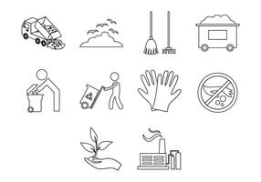 Gratis Garbage Icon Vector