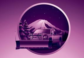 Snow Plough Free Vector