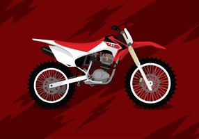 Dirt Bike Free Vector