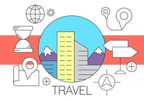 Icônes de voyage gratuites