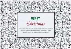 Free Vector Christmas Illustration