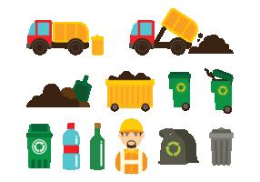 Iconos de vertederos
