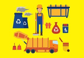 Landfill Icon Free Vector