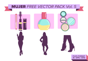 Mujer Free Vector Pack Vol. 5