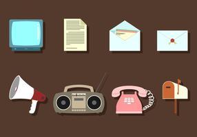 Communication Media Free Vector