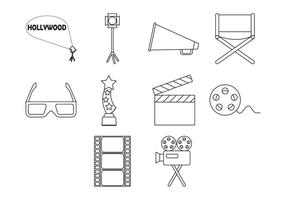 Gratis Movie Icon Vector