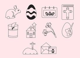 Gratis Påsk Icon Set
