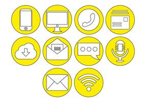 Gratis Communicatie Pictogram Vector