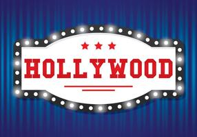Hollywood Licht Teken