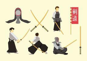 Vector libre de Kendo