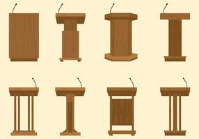 Lectern Free Vector