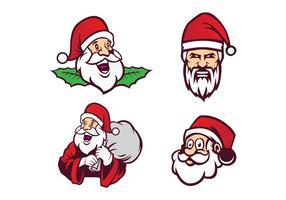 Freier Weihnachtsmann-Vektor