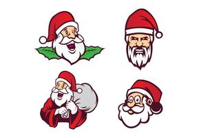 Vector libre de Santa Claus